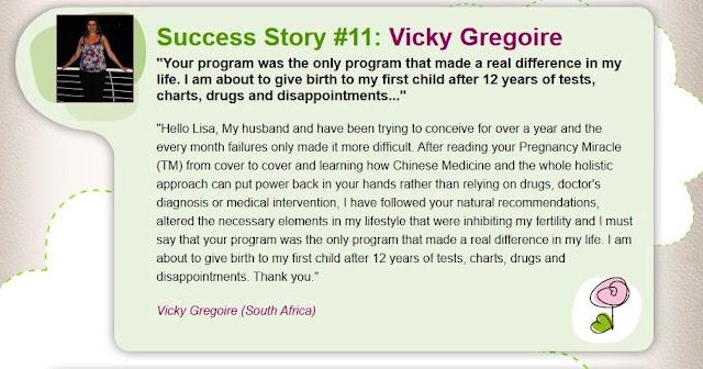 The Pregnancy Miracle Testimonials