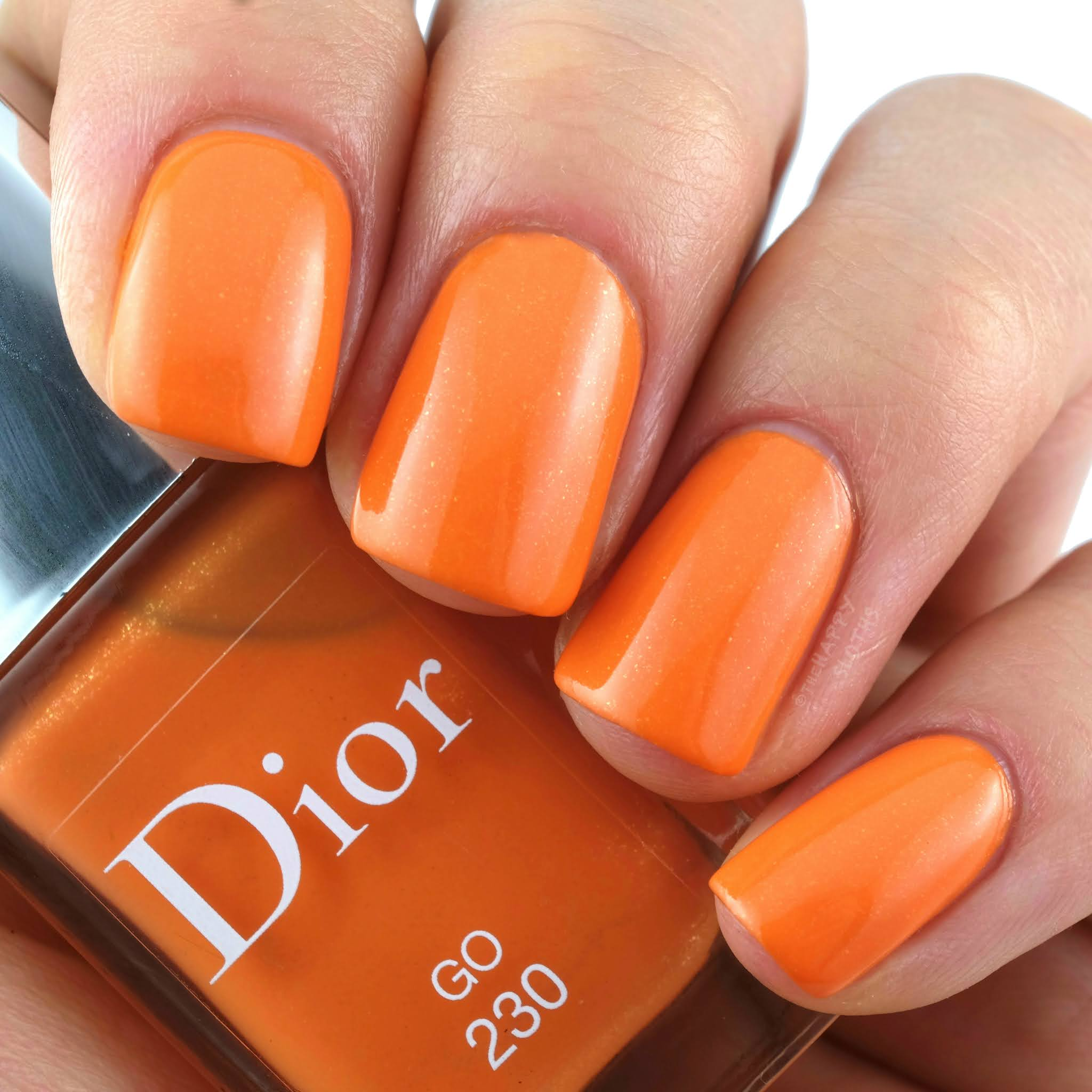 "Dior Summer 2020 | Dior Vernis Color Games Nail Lacquer in ""230 Go"": Review and Swatches"