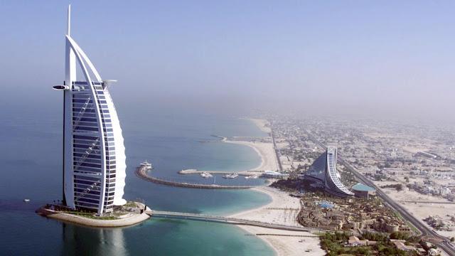 Burj al Arab Hotel de 7 estrellas