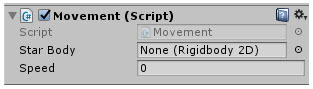 Unity Game Engine: جعل الكائن يتحرك باستخدام C++ Script