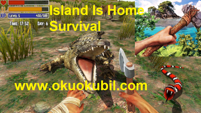 Island Is Home Survival v2.0 Issız Adada Tek Başına Simulator  Mod Apk İndir