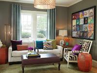 Wandgestaltung Farbe Wohnraum