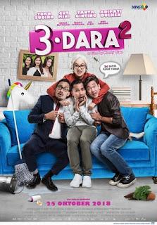 Download Film 3 Dara 2 (2018) Full Movie Gratis