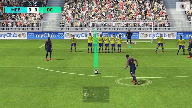تحميل لعبة Pro 2018 إصدار برشلونة الجديد لجميع هواتف الأندرويد