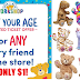Build-a-Bear Workshop Pay Your Age Ticket Giveaway - 200,000 Will Win A Ticket To Pay Your Child's Age For a Build-A-Bear - MUST SIGN UP BEFORE 6/16 TO BE ELIGIBLE!!