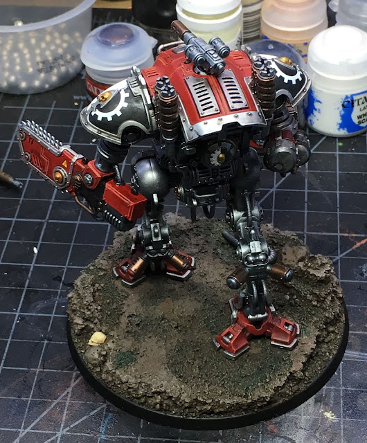 Armiger Warglaive from House Taranis WIP back