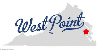 West Point, Virginia map