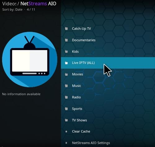 NetStreams AIO Addon - How To Install NetStream AIO Kodi