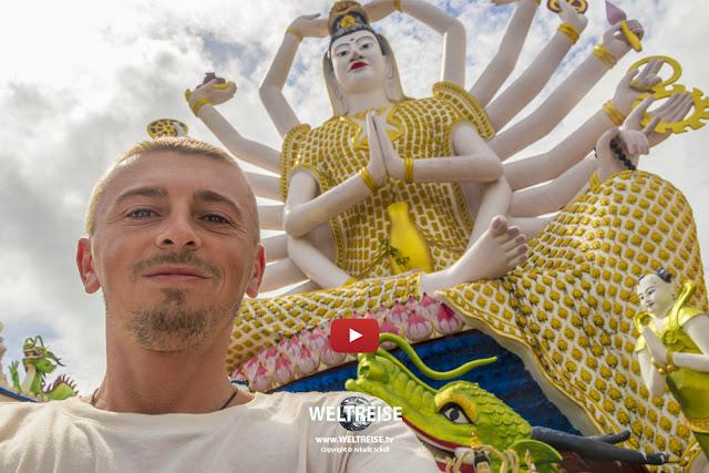 Schönster Tempel KOH SAMUI | Wat Plai Laem | THAILAND