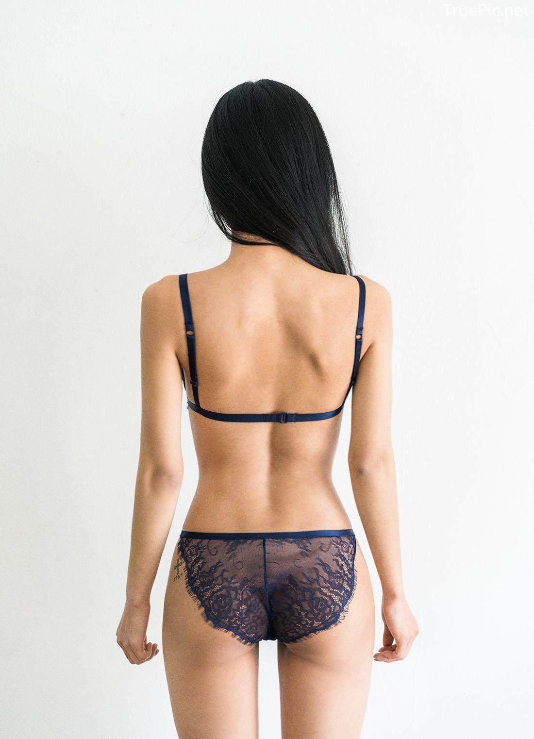 Korean Fashion Model - Baek Ye Jin - Sexy Lingerie Collection - TruePic.net - Picture 9