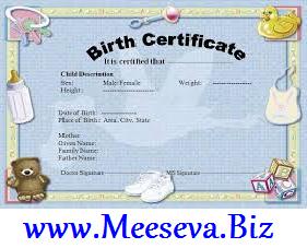 Hoow To Get Birth Certificate Online