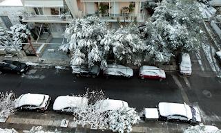 Καιρός - Προσοχή! Νέος χιονιάς θα «σκεπάσει» τη χώρα – Χιόνια και στο κέντρο της Αθήνας