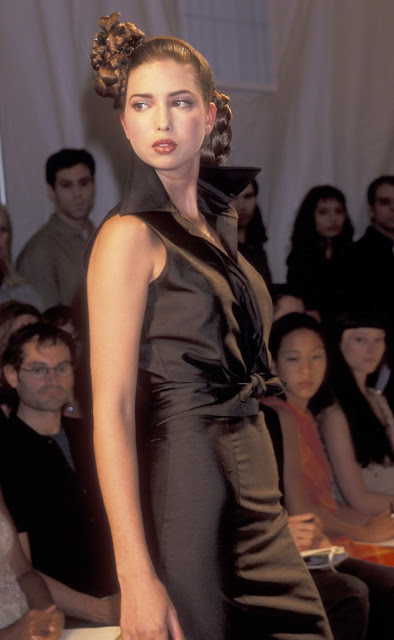 Ivanka Trump walks the runway for Zang Toi during New York Fashion Week in 1999. (Ron Galella/WireImage)