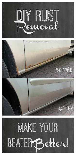DIY rust repair