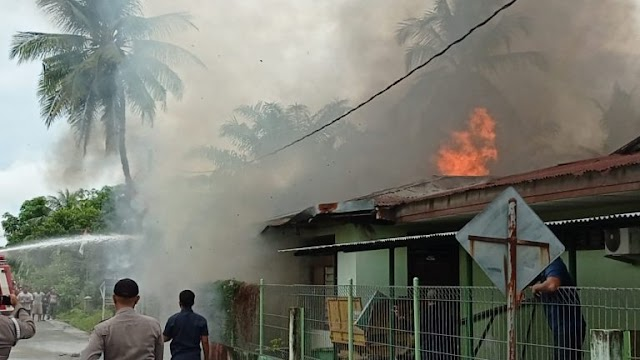 Satu Rumah di Langsa Ludes Terbakar