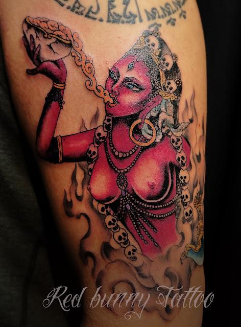 VAJRA YOGINI tattoo タトゥー