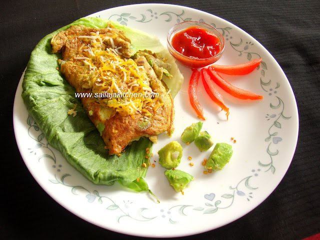 image of Avocado Omelet Recipe / Avocado Omelette Recipe