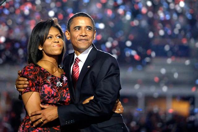 Após 24 anos, casamento de Barack Obama chega ao fim e Michele deve recebre 80 milhões