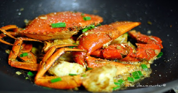Salt & Pepper Mud Crab Ala Beancounter Recipe