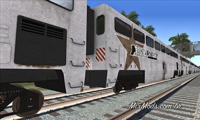 gta sa mod hd train remaster brown streak