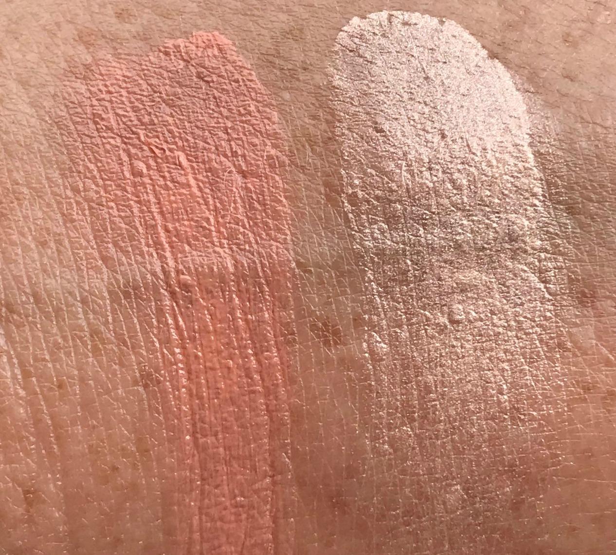 KOSAS Color + Light Creme Duo Velvet Melon Swatch