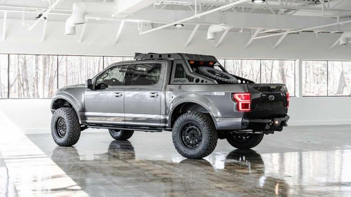 Bán tải Ford F-150 độ tăng công suất lên 500 mã lực