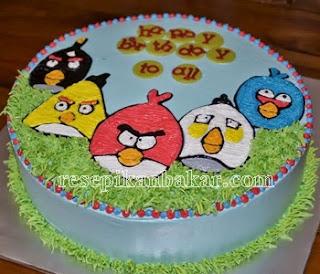 Resep kue ulang tahun anak laki-laki