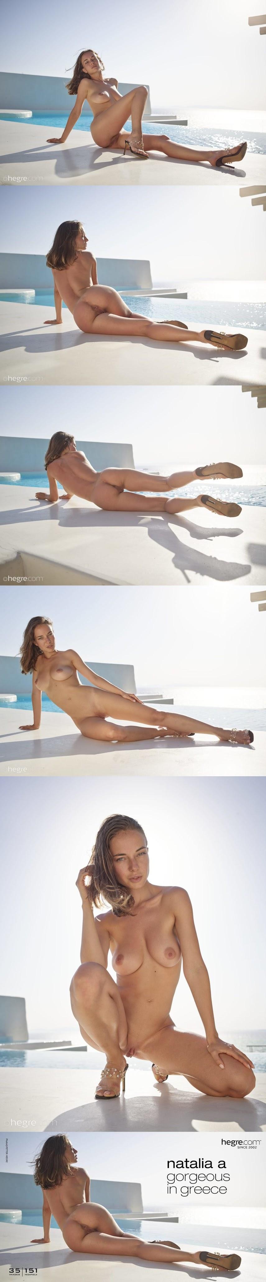 [Art] Natalia A - Gorgeous In Greece
