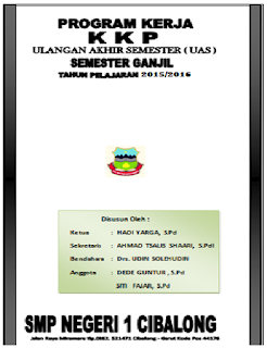 cover program kerja KKP UAS Ganjil