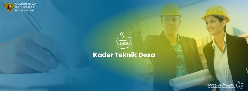 SK Kader Teknik Desa