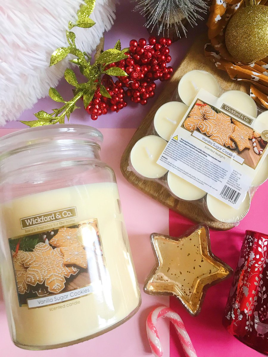 Home Bargains Vanilla Sugar Cookies candles