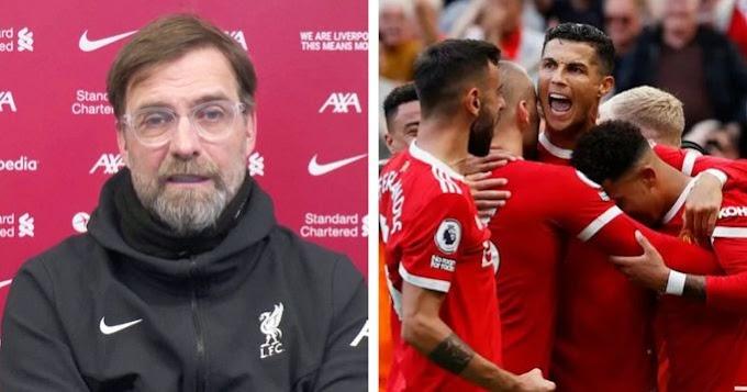 Jurgen Klopp is still salty about Ronaldo's return to Man United