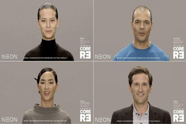سامسونغ تكشف عن مشروعها الثوري NEON للإنسان الاصطناعي!