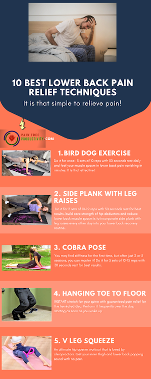 10 best Lower back exercises for pain relief from herniated disc