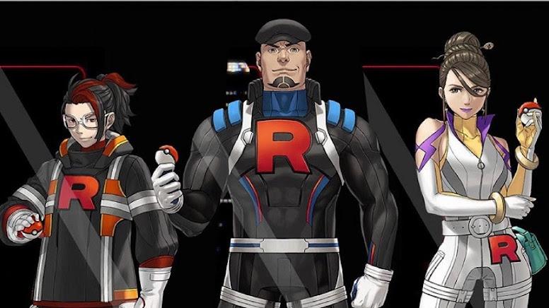 Equipe Rocket: Arlo, Cliff e Sierra