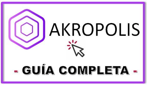 Cómo Comprar AKROPOLIS (AKRO) Tutorial Actualizado y Completo