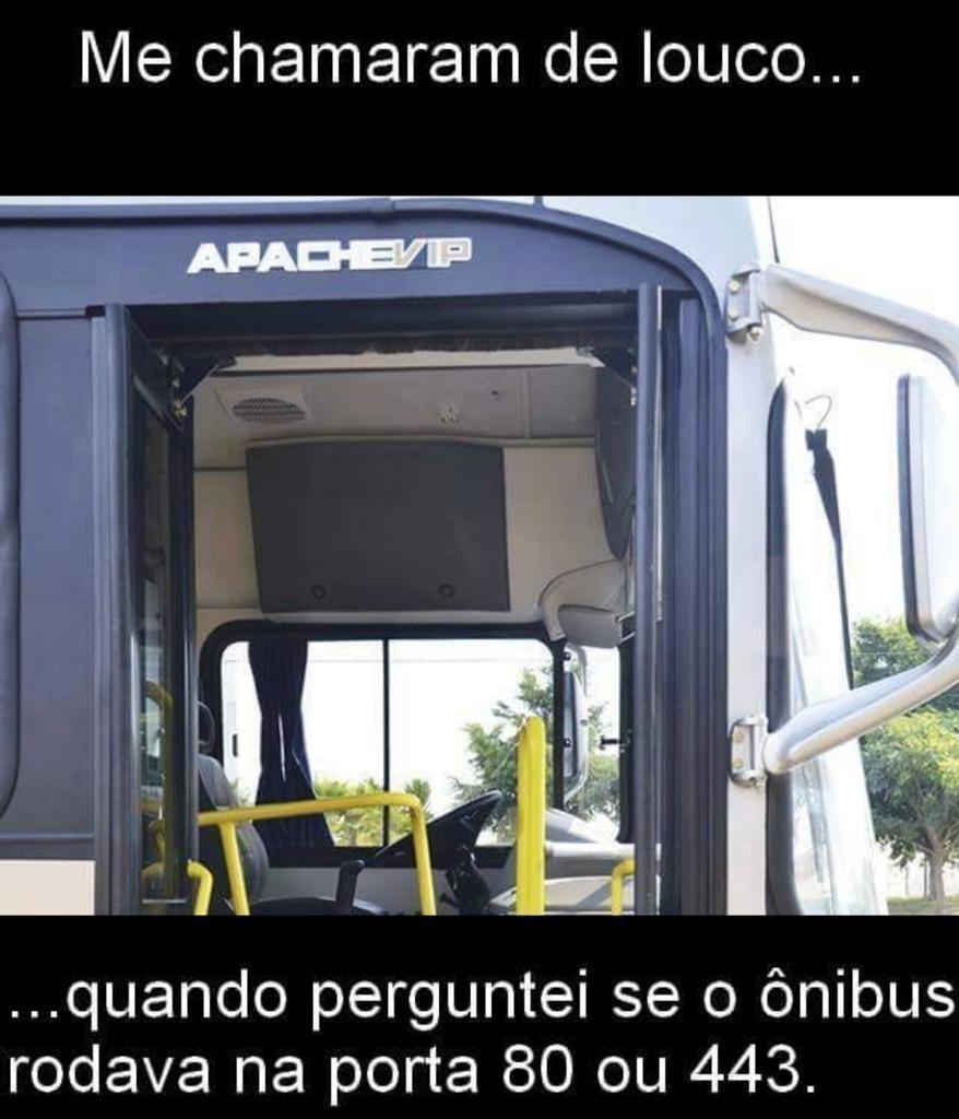 onibus apache porta 80 443