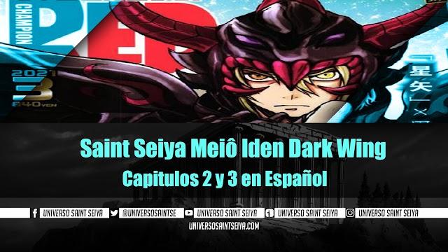 Saint Seiya Meiô Iden Dark Wing Capitulos 2 y 3 en Español