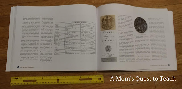 inside the book The Hidden Message of the Great Seal with a ruler
