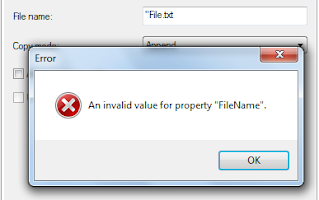 invalid property value 3