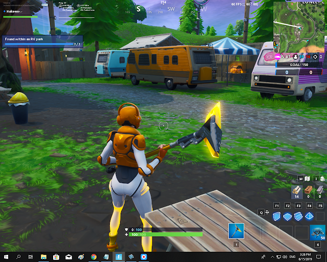Found within an RV park FORTBYTE Mission #14