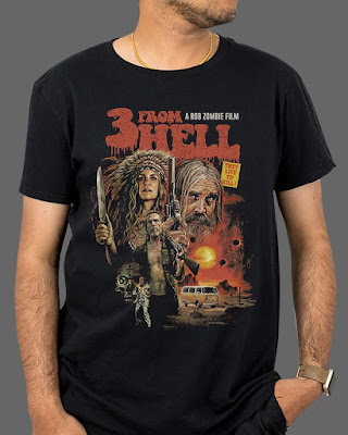 FRIGHT-RAGS' 3 FROM HELL TEE
