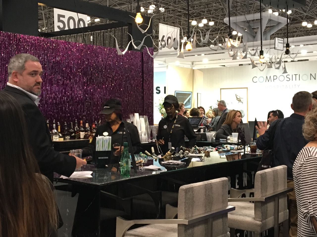 Pleasant living bdny and the salon art design for 2 the nines salon