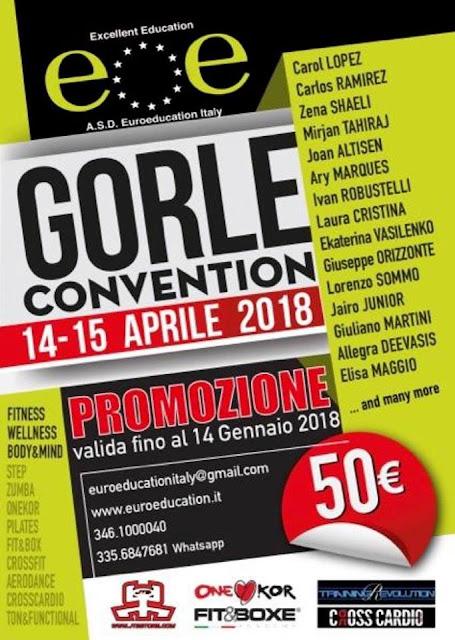 21° Edizione Gorle Convention - 14-15 aprile 2018 a Gorle (BG)