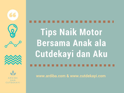 tips naik motor bersama anak