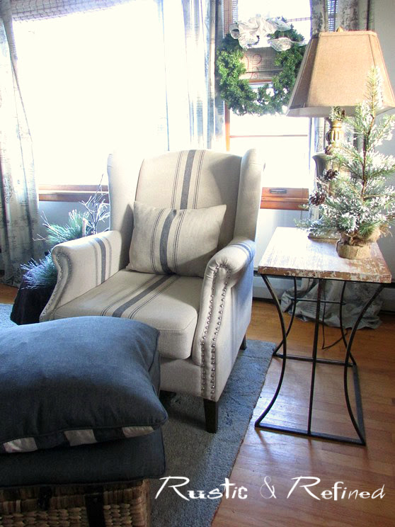 Living room decorating without the matchy matchy feel