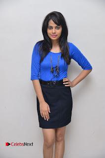 Actress Nandita Swetha Stills in Black Mini Skirt at Ekkadiki Potavu Chinnavada Movie Special Show  0051.JPG