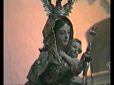 Vídeo de la Virgen del Carmen de Porta Coeli de Cádiz del 1989