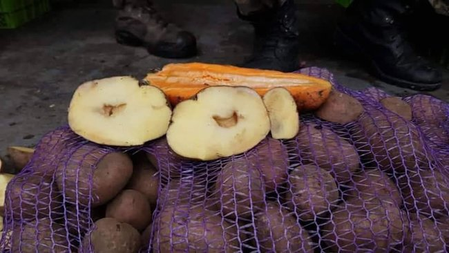 військові отримують погрози від керівництва Міноборони через відмову приймати в цього постачальника непридатну до вживання їжу