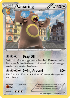 Ursaring BREAKthrough Pokemon Card